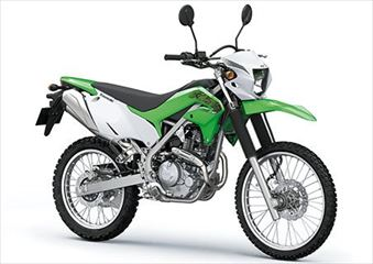 カワサキ KLX230 ライムグリーン 240