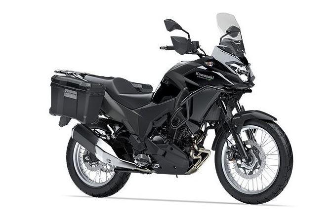 カワサキ VERSYS-X 250 TOURER メタリックスパークブラック×メタリックフラットロウグレーストーン