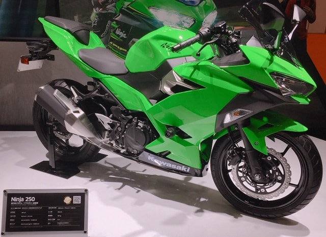 新型Ninja250 東京モーターショー2017 02