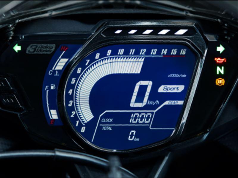 ホンダ CBR250RR 2019 フルデジタルメーター