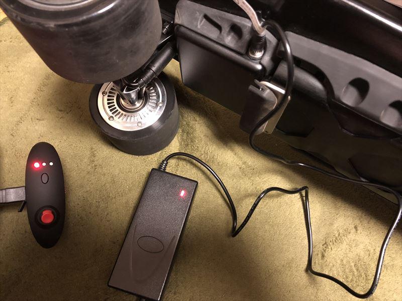 KOOWHEEL D3M 充電