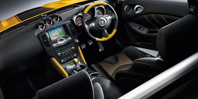 日産 フェアレディZ(Z34)ヘリテージエディション インテリア