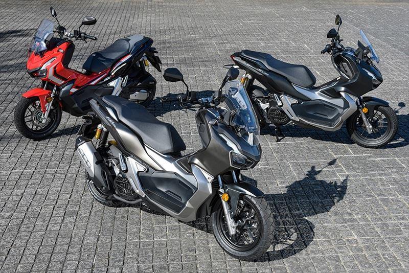 新型軽二輪スクーター「ADV150」の受注状況について