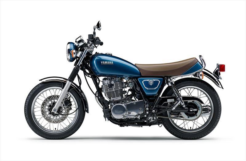 ヤマハ SR400 グレーイッシュブルーメタリック4(ブルー) 002