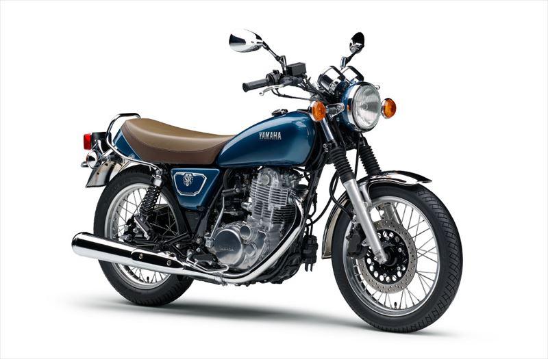 ヤマハ SR400 グレーイッシュブルーメタリック4(ブルー) 003