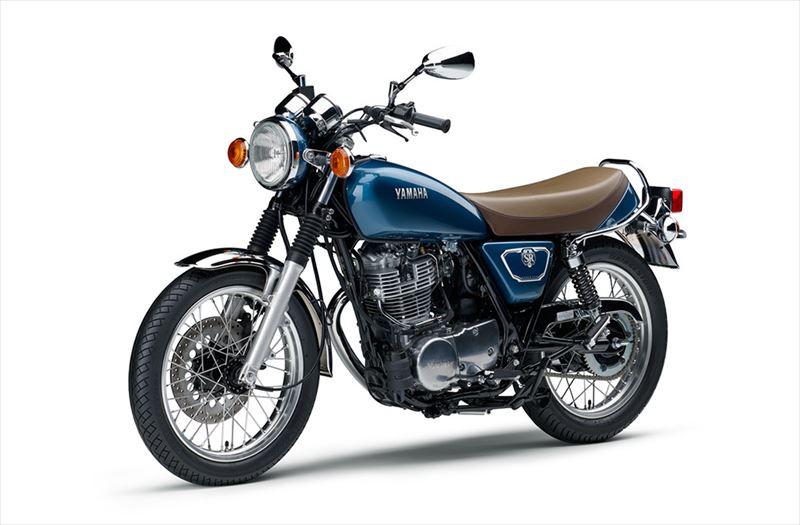 ヤマハ SR400 グレーイッシュブルーメタリック4(ブルー) 004