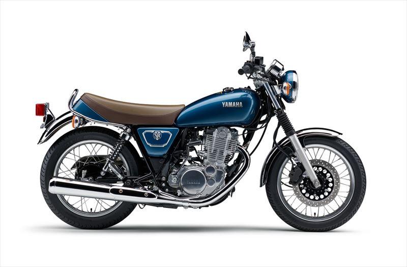 ヤマハ SR400 グレーイッシュブルーメタリック4(ブルー) 001