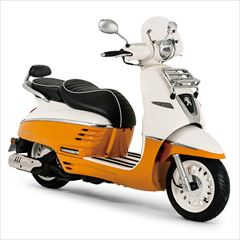 PEUGEOT MOTOCYCLES DJANGO125 EVASION ABS+(2018)ビタミンオレンジ