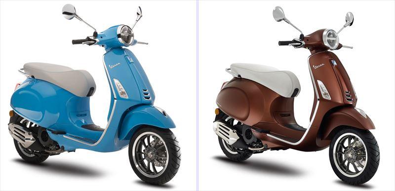 Vespa Primavera 50th Anniversario 全国限定50台 全2色