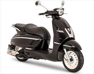 PEUGEOT MOTOCYCLES DJANGO125 HERITAGE(2018)インクブラック