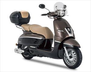 PEUGEOT MOTOCYCLES DJANGO125 ALLURE ABS DX(2019)チョコレート