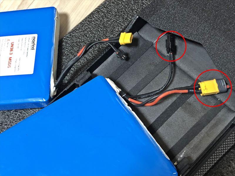 電動スケボーMaxfind MAX4 バッテリー交換04