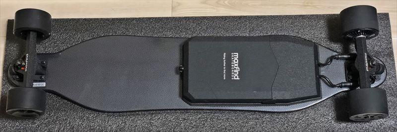 電動スケボーMaxfind MAX4 背面