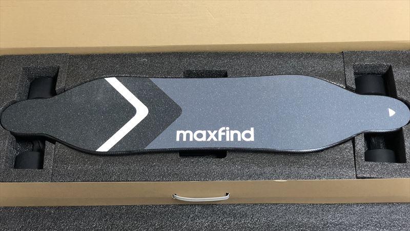 電動スケボーMaxfind MAX4 開封