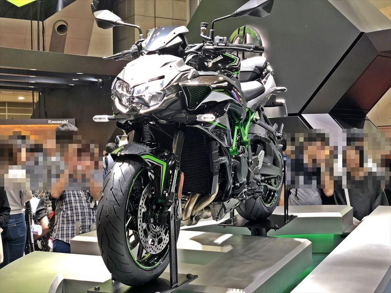東京モーターショー2019 カワサキ Z H2