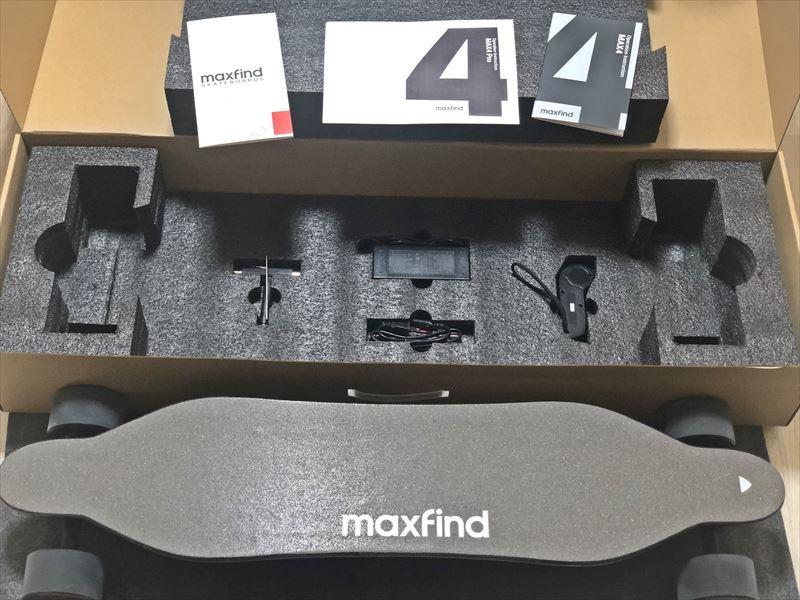電動スケボー MAXFIND MAX4 PRO 回復