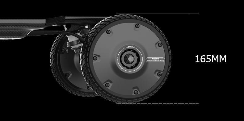 電動スケボー Maxfind FF PLUS 165mm大径ウィール